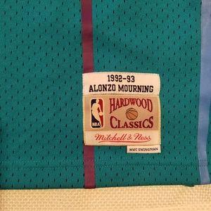 Mitchell   Ness Shirts - New Mitchell   Ness HWC Charlotte Hornet Mourning 4307bf38e